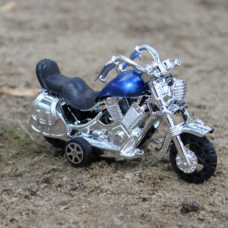 Taxi prince Harley motorcycle plastic model toys for kids(China (Mainland))
