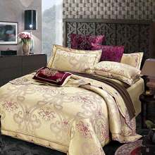 Brand SILK PLACE Bedding Set Satin Luxury Bedding Sets Cotton High Quality Jacquard Comfortable Bedding Duvet Cover Bed Sheet(China (Mainland))