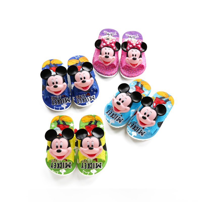 Baby slippers child summer 2015 cartoon style plastic children slip-resistant shoes male sandals - Fire rose shop store
