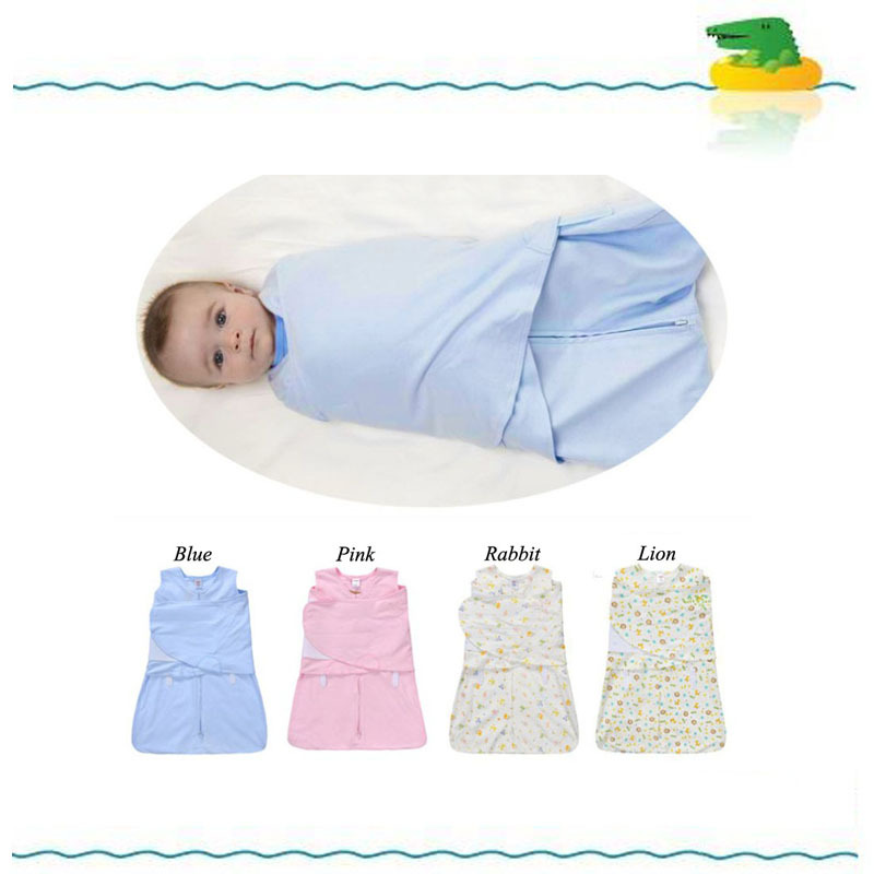 Spring Summer Swaddleme Baby Wipes Swaddling Bag Baby Sleeping Bags Pure Cotton Swaddle Blanket Free Shipping(China (Mainland))