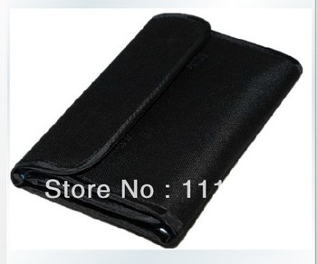 DHL FREE SHIPPING + Tracking number 120pcs/lot Brand New Lens Filter Wallet Case 6 Pockets Filter Bag For 25mm to 82mm Filters