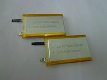 Настроены для мобильных устройств производители литиевая батарея литий-полимерная батарея 3.7 В