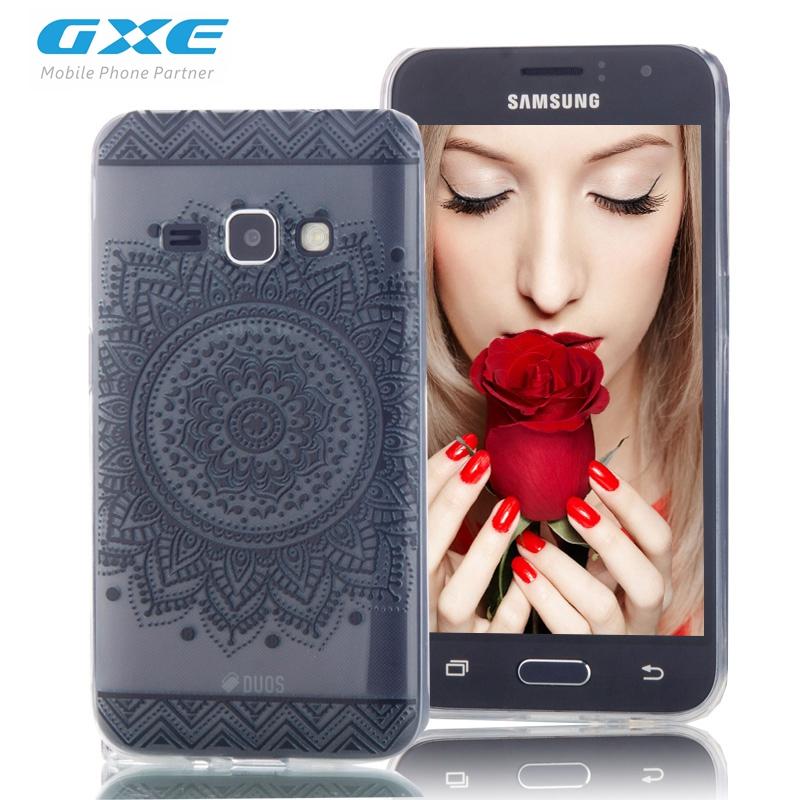 GXE Phone Case Samsung Galaxy J1 2016, Anti-knock Soft TPU Phone Cases Galaxy Express 3 J120A J120F Back Cover