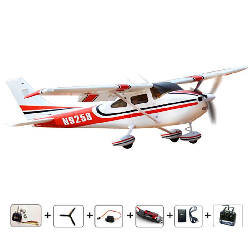 RC Airplane Cessna 182 6CH remote control model airplanes RTF EPO Air planes aeromodelling hobby aircraft airmodelling planes(China (Mainland))