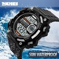2016 Skmei Luxury Brand Men Sports Watches Digital LED Military Watch Waterproof Outdoor Casual Wristwatches Relogio
