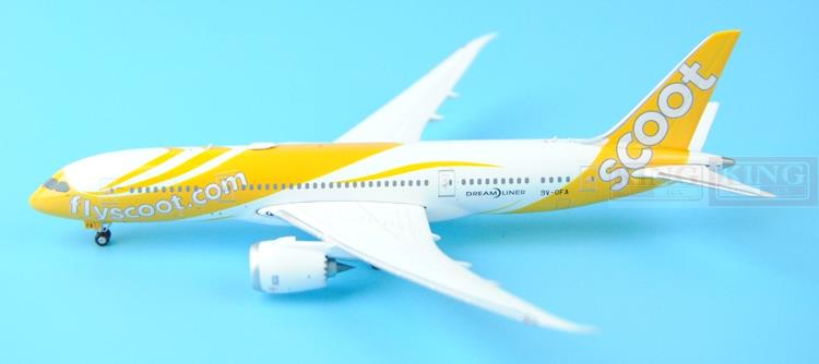 New: Phoenix 11201 Singapore Airlines 9V-OFA 1:400 B787-8 commercial jetliners plane model hobby(China (Mainland))