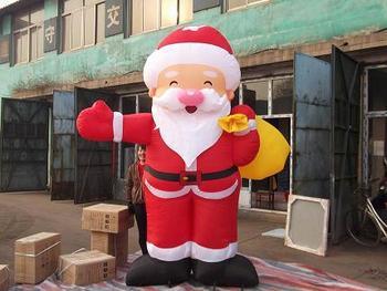 Santa Claus inflatable model