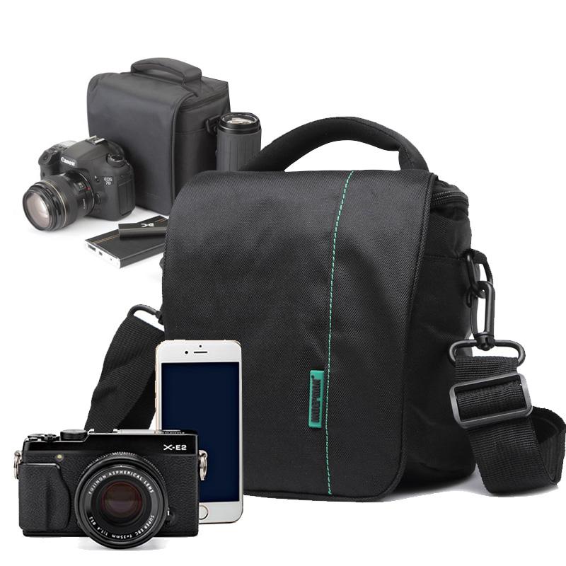 Waterproof Nylon Lightweight Durable Protective Digital Camera Shoulder Case Bag SLR Micro Single Camera bag free shipping(China (Mainland))