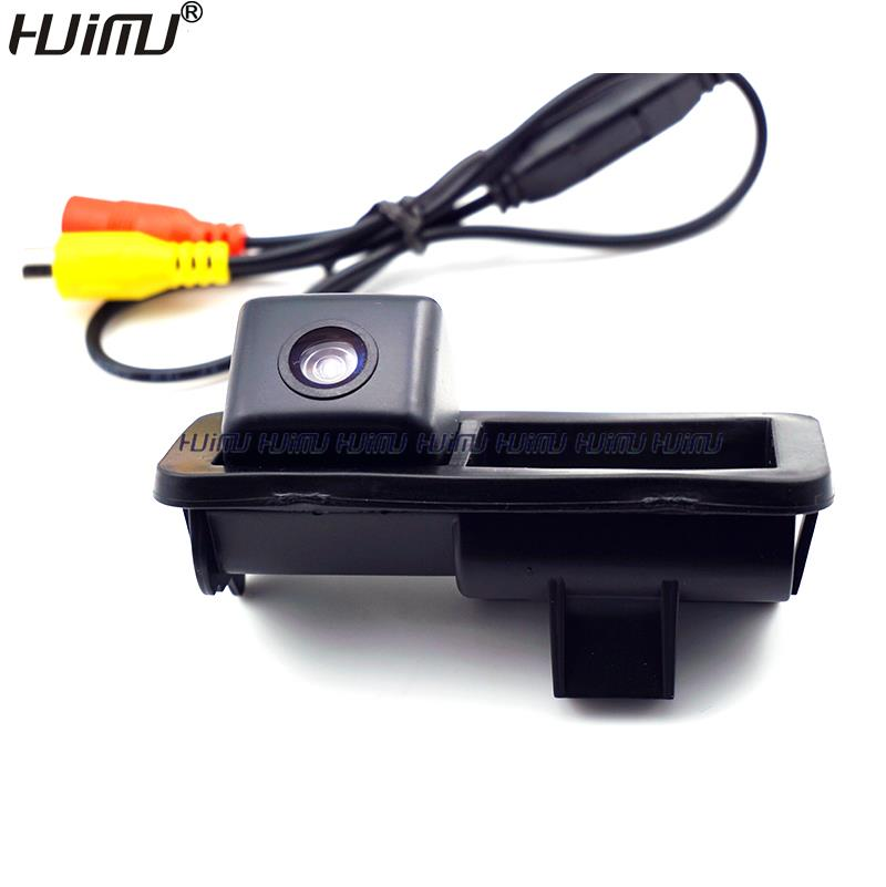 wired wireless car rear camera trunk handle switch for ford Mondeo Fiesta S-Max Focus 2C 3C /Land Rover Freelander Range Rover(China (Mainland))