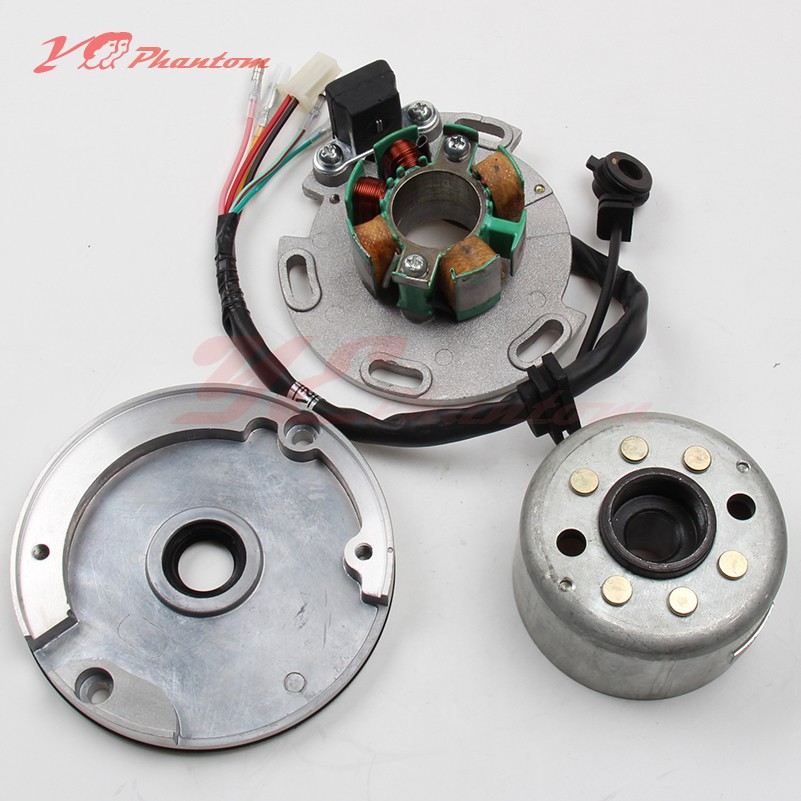 High Performance Racing Magneto Stator Rotor Kit Dirt Bike LF for Lifan 140 150cc CDI Use for motorcycles accessories