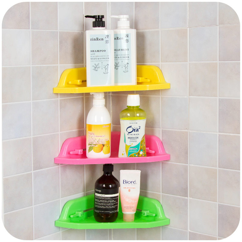 Popular Mounted Suction Cup Storage Rack Traceless Vacuum Kitchen Bathroom