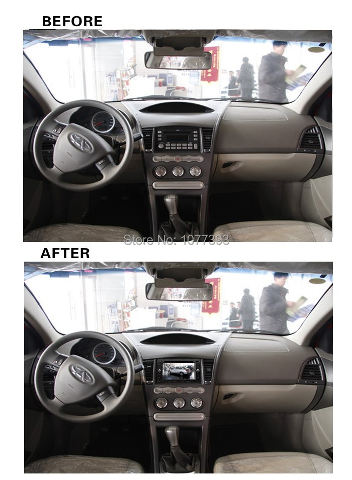 2015 7 inch Car DVD Player For Chery A3 A5 Cross Tiggo Car Video With GPS Car Electronics BT HD Touch Ipod RDS ATV 4G SD MAP(China (Mainland))