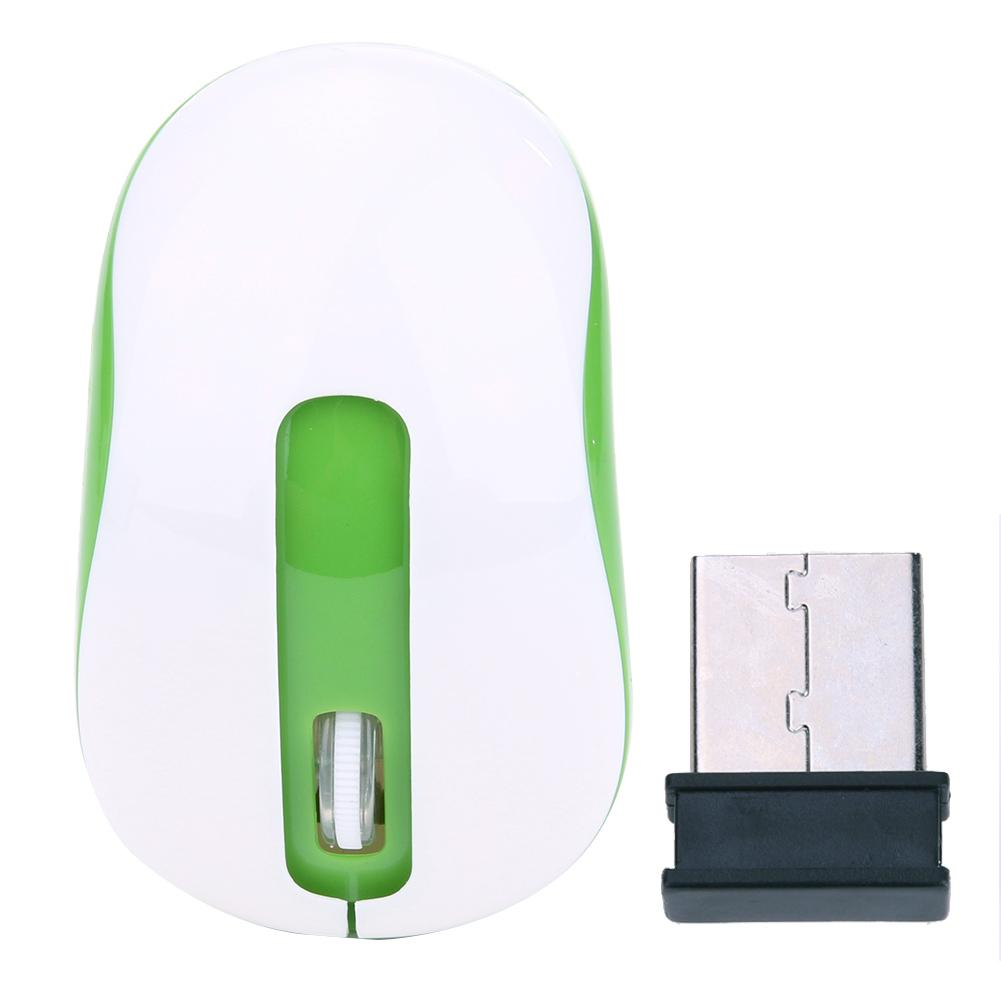 2.4GHz Wireless Optical Mouse Cordless Home / Office Use Mice USB 2.0 Receiver For Laptop PC Computer(China (Mainland))