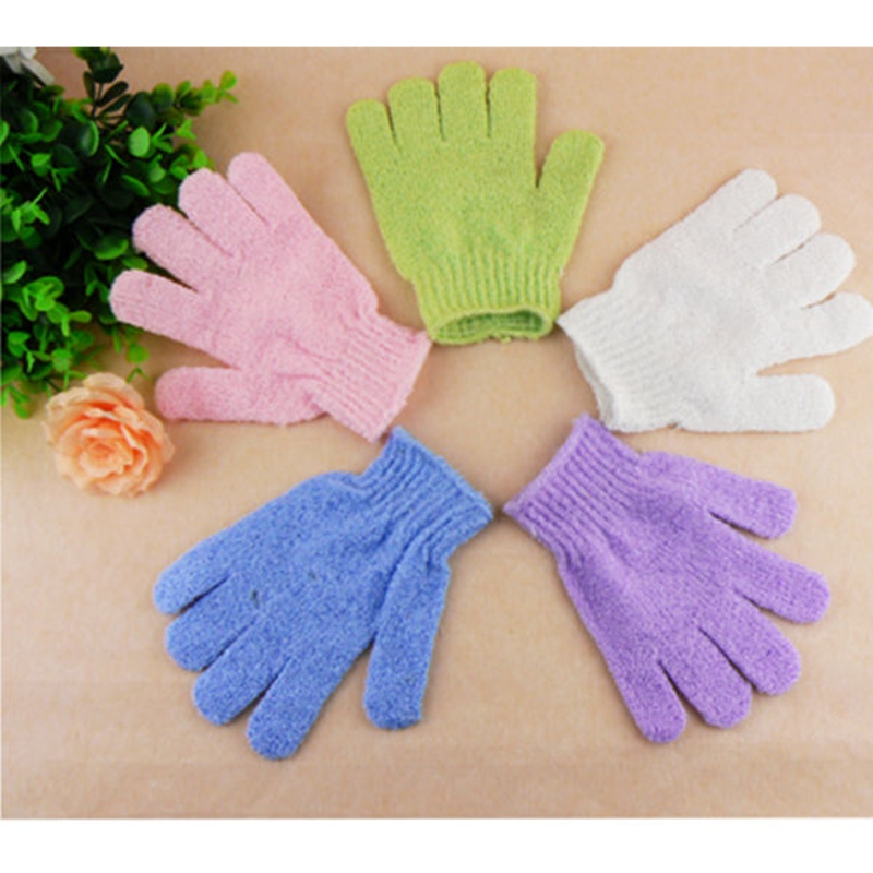 Bath SPA Glove Sponge Household Skin Body Massage Shower Exfoliating Cleaning Scrub Loofah Body Scrubber(China (Mainland))