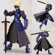 Anime Figma 072 Fate Stay Night Saber Action Figure Collectible Hand Model Doll Figure Toy w