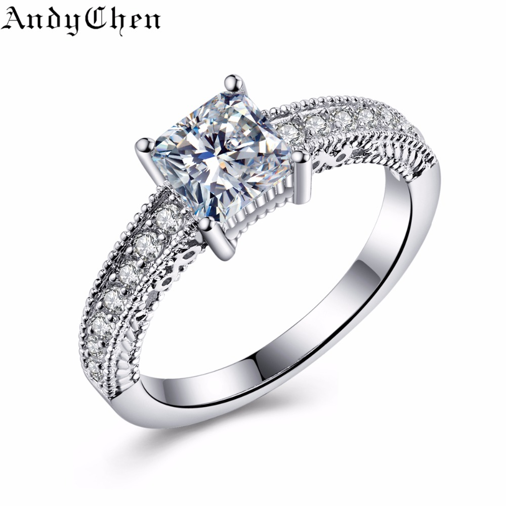 aliexpress buy andychen silver plated square