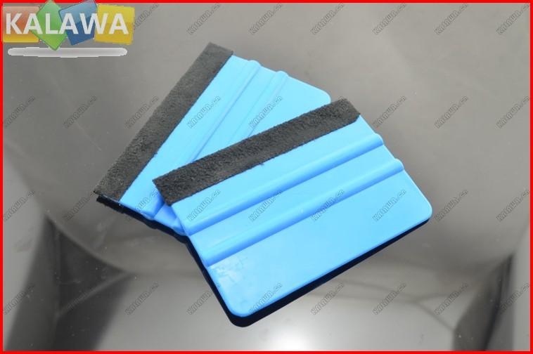 1pair 2pcs car vinyl film stickers wrapping tools blue