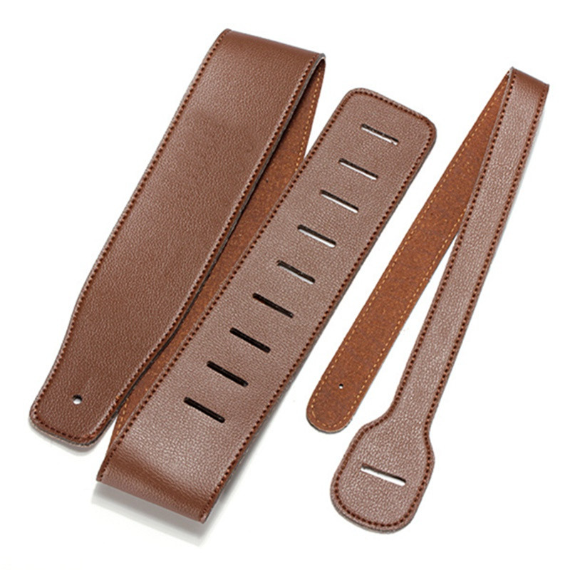 Adjustable 110~130cm High Quality PU Leather Acoustic Electric Guitar Strap Belt Musical Instrument Classical Guitar Accessories(China (Mainland))