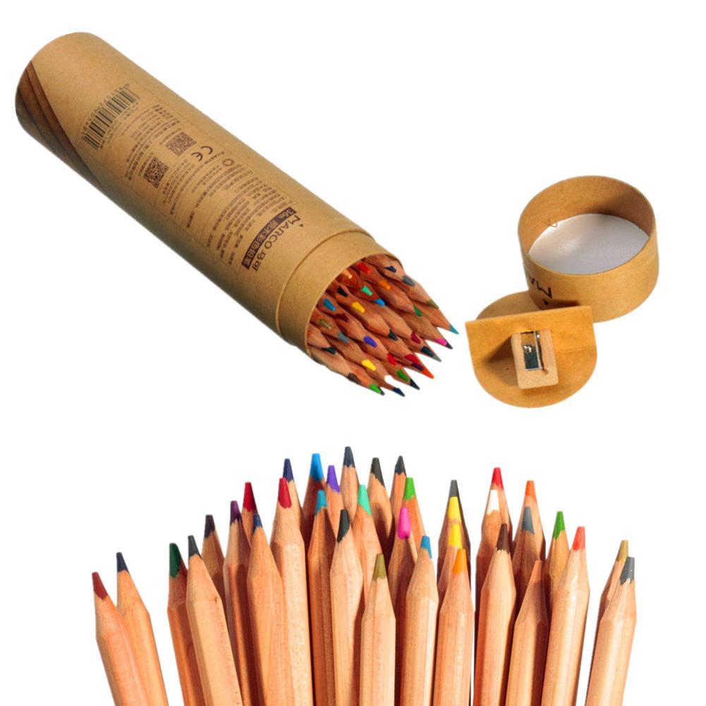 Color art colored pencils - Astl Professional Marco Raffine Fine Art Colored Pencils 36 Colors Drawing Sketches Mitsubishi Colour Pencil School