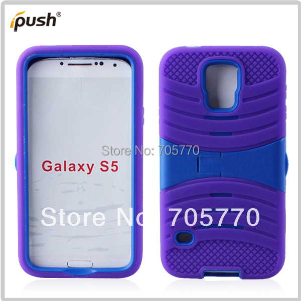 Galaxy S5 Wholesale Hybrid Combo Phone Case,Silicon