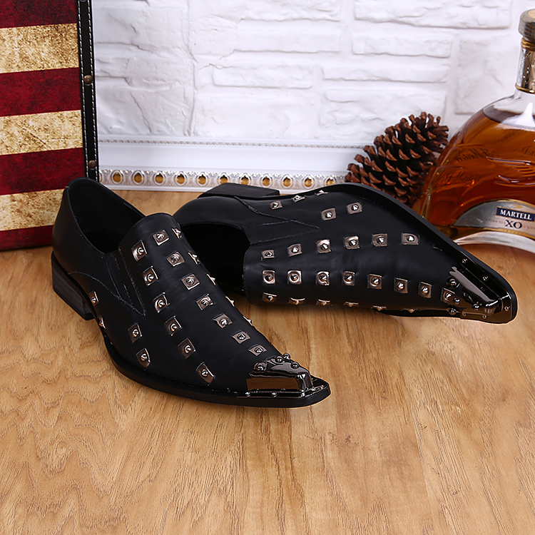 Здесь можно купить  HOT!! Rivet steel-toed set foot men