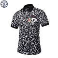 Mr BaoLong 2017 new Brand design Polo Shirt Men Fashion style POP printed letter skull slim