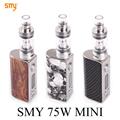 Electronic Cigarette Mini Box Mod Kit Electronic Hookah Pen SMY 75 for SMOK VCT Pro Tank