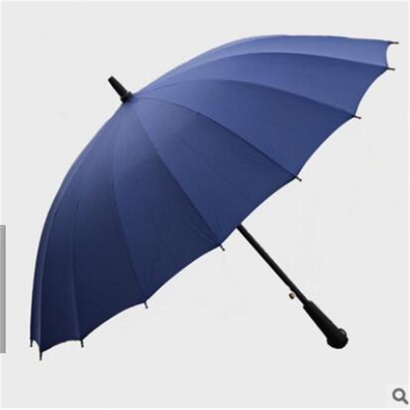 Free shipping 2016 new umbrella large skillet sunny umbrella Straight Golf(China (Mainland))