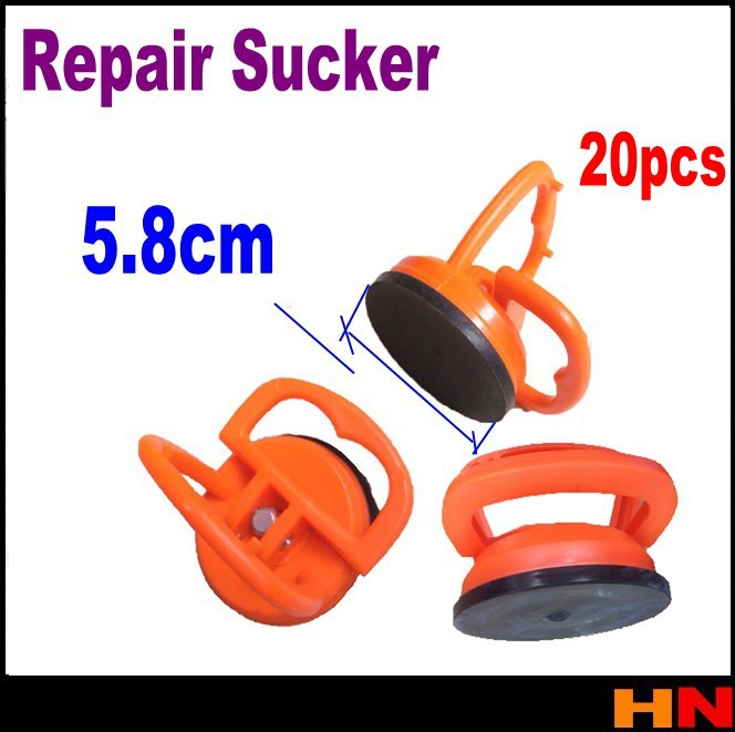 20pcs 5.8cm Small Dent Repair Puller Lifter Screen Open Tool Glass Car Suction Sucker(China (Mainland))