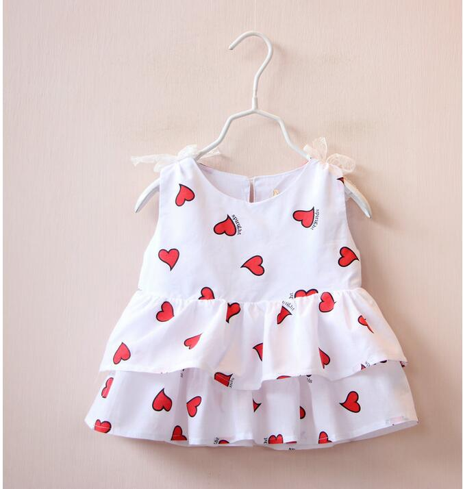 1594331 Wholesale 2016 Summer Fashion Baby Girls Tops Print Heats Toddler Girls Tees Lolita Bow Casual Children Clothes Supplier<br><br>Aliexpress