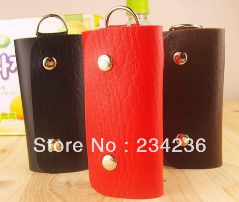 Fashion Nations style Women Men PU Leather Bags elephant grain purses handmade key wallets Cases 3 Colors Xmas Gifts items - SOHOO store