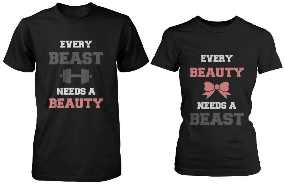 Buy Hot Sale Summer Couple T Shirt Cute