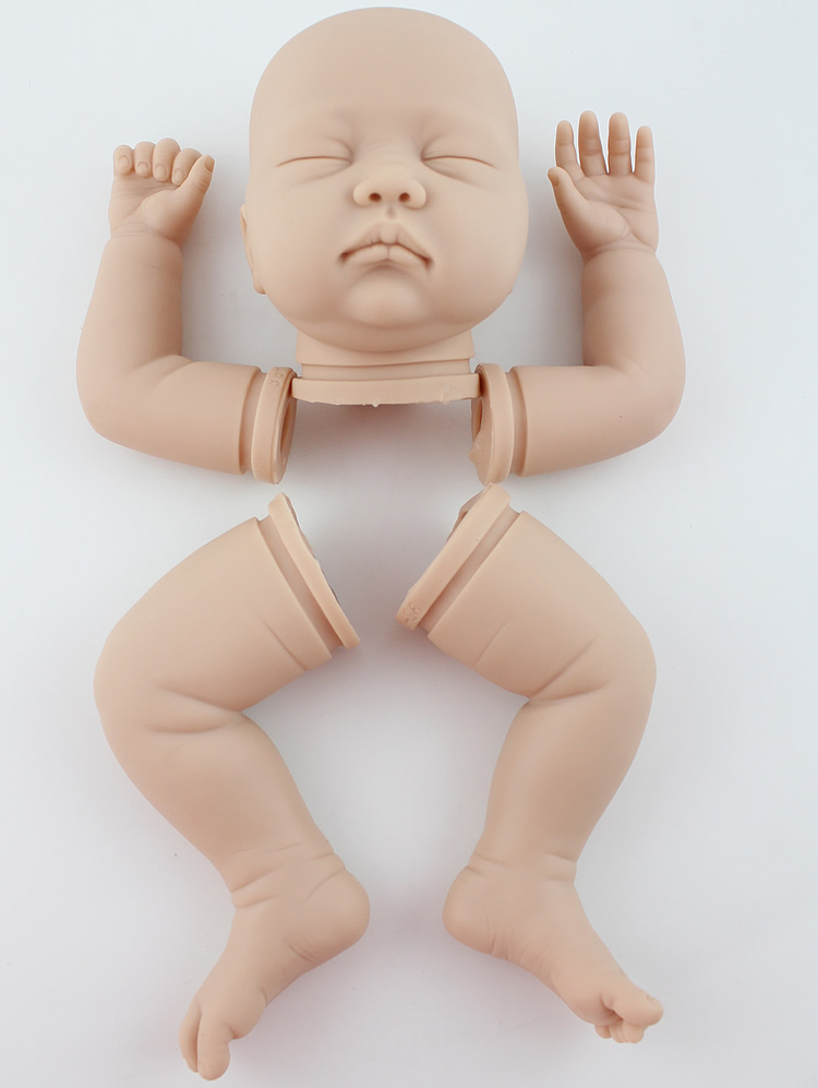 22 inch lifelike reborn baby doll kits mold(China (Mainland))