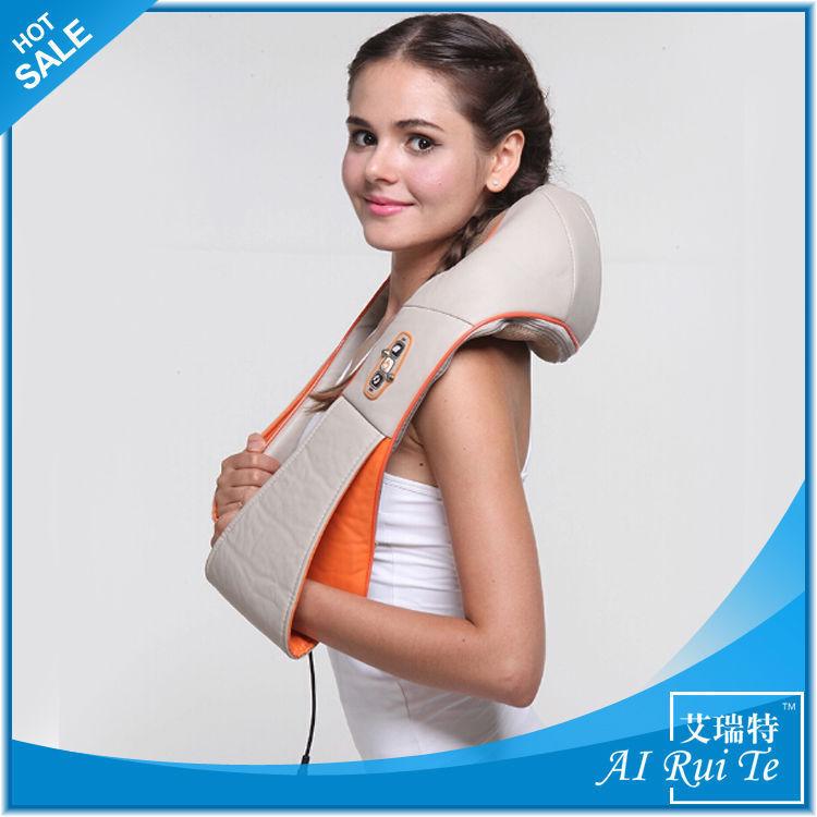 Free shipping Hi-Q Neck massager shoulder and Body massager ,Cervical Vertebra HEATING function Instrument body massage belts(China (Mainland))