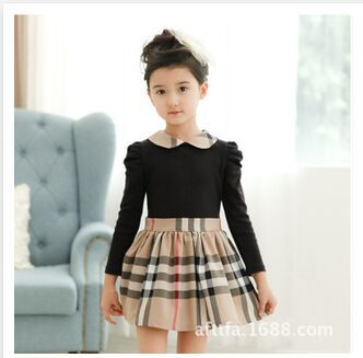 2015 spring brand casual dress girl dress,kids clothes,Girls long-sleeved dress,baby clothing,baby girls - Boys *girls store