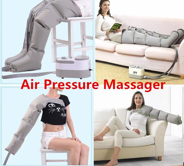 Air Pressure Leg Arm Massager Release Edema Varicosity Myophagism Body Slimming Rehabilitation Massaging Medical Device(China (Mainland))