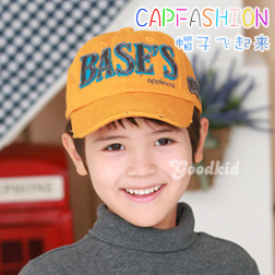 Bases summer baby hat male hat distrressed baseball cap child cap