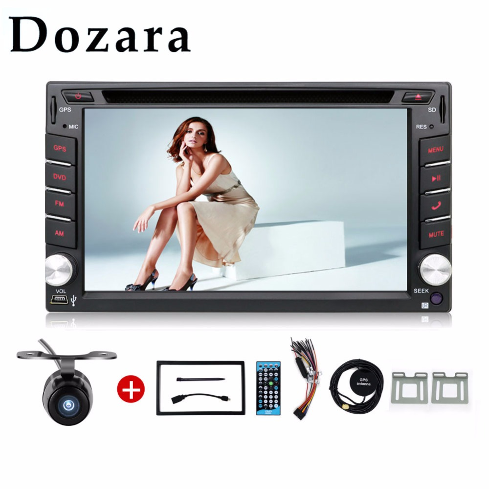 2 din car dvd gps In Dash Universal car dvd GPS/Radio tuner/MP3/USB/SD/Bluetooth/Stereo/Video Free Map and Camera(China (Mainland))