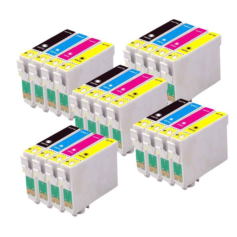20 Compatible EPSON Ink cartridge for stylus SX130 SX-130 SX 130 Printer<br><br>Aliexpress