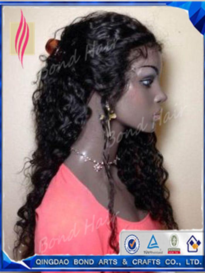 8A Remy Brazilian Virgin Human Hair Wigs 8 inch-30 inch Deep Wave Cheap Glueless Full Lace Front - Bond store
