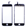 FreeShipping Black White Touch Screen Digitizer Panel Glass Lens for Apple for iphone 6 4 7