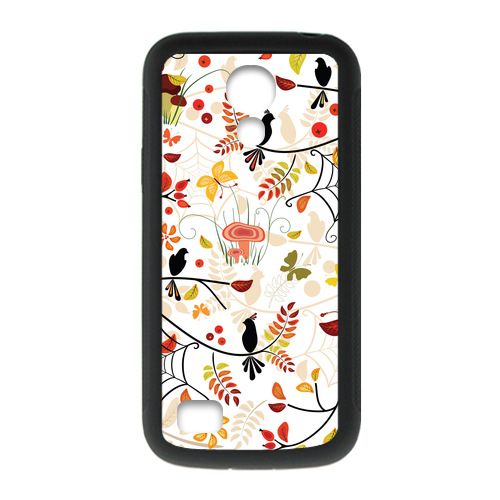 Falling Leaves Birds And Falling Leaves Case for Samsung S4 mini Cell Phone Cases Canada(China (Mainland))