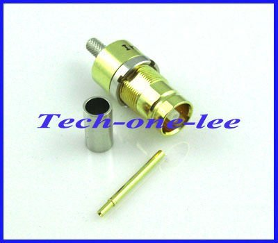 10pcs/lot 1.6/5.6 (L9) female straight RF coaxial connector straight for RG316 RG174 free shipping