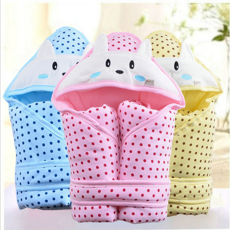 Free Shipping 2016 100% cotton Quited baby holds parisarc Newborn baby blankets supplies newborn holds plus cotton Sleeping bag(China (Mainland))