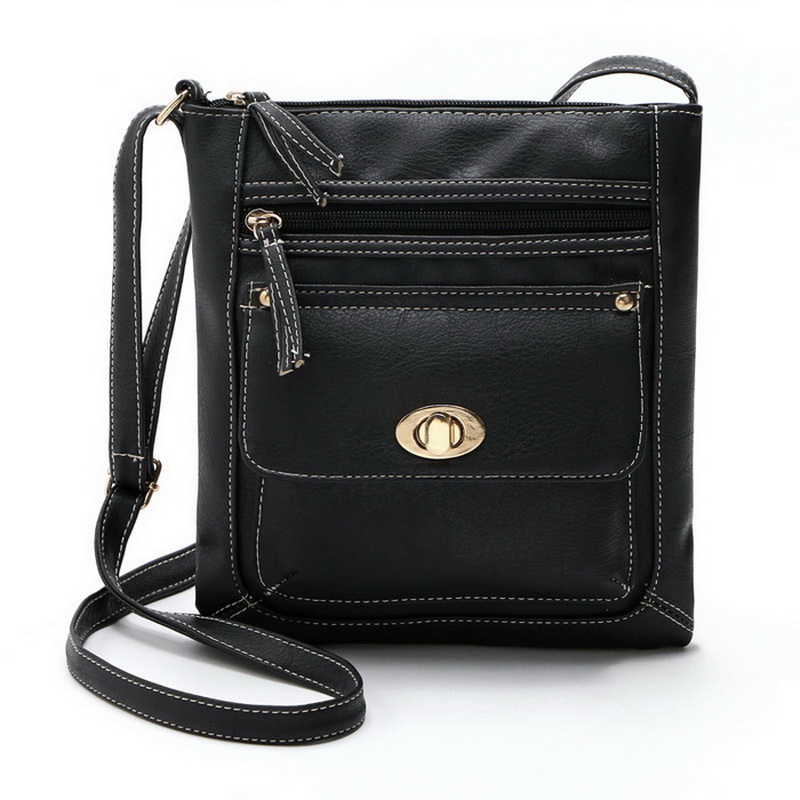 Retro Vintage Women Flap Messenger Bags Lovely Girls  Bolsa Feminina Handbags Female Leather Designer Shoulder Bags XB223
