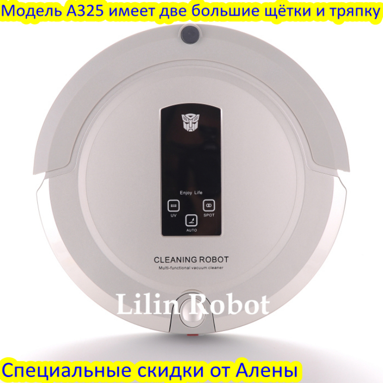 (free to all world)2015 best sells records ever, LCD Screen, Multifunctional Robot Vacuum Cleaner with mop pad, drying cleaning,(China (Mainland))