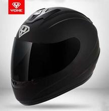 2015 YOHE Genuine motorcycle helmet full helmet winter helmet men and women warm winter helmet free shipping(China (Mainland))