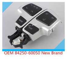 OEM 84250-60050 Steering Wheel Switch Controls Switch Assy, Steering Pad For Toyota Land Cruiser 200 2008-2011(China (Mainland))