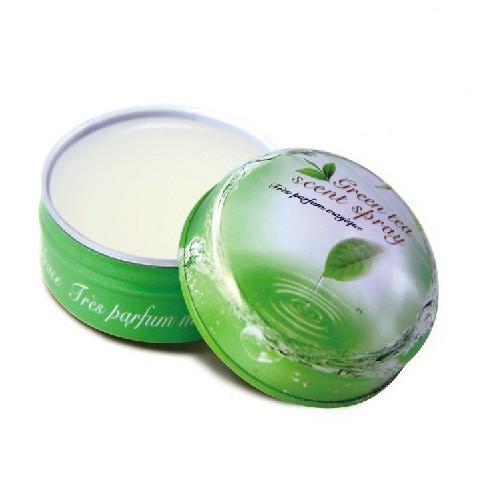 Green Tea Brand perfumes 100 original women Solid perfume brand 15G Grace Sexy lady women fragrance High quality(China (Mainland))