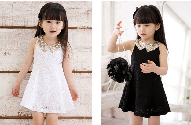 819 new 2014 baby lace summer party dress girls sleeveless wedding princess brand designer bohemian dresses ADS027 - kids clothes on line store
